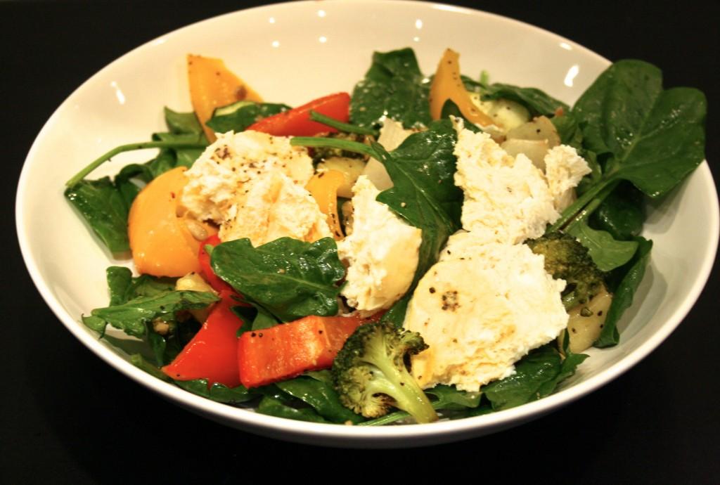 Grillade grönsaker & ägg