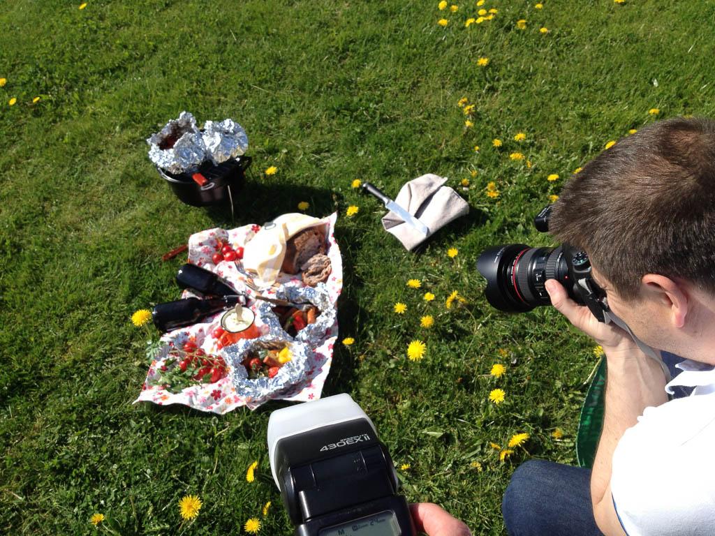 Picknickfoto