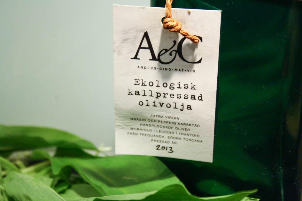 Ekologisk kallpressad olivolja från Anders & Cino