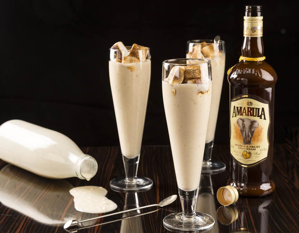 Milkshake med grillade marsmallows Foto: Michaek Krantz Recept: Kristin Johansson