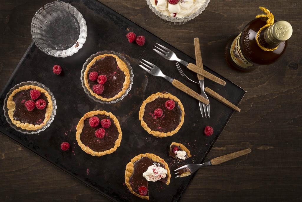 Chokladpaj med Amarula Foto: Michael Krantz Recept: Kristin Johansson