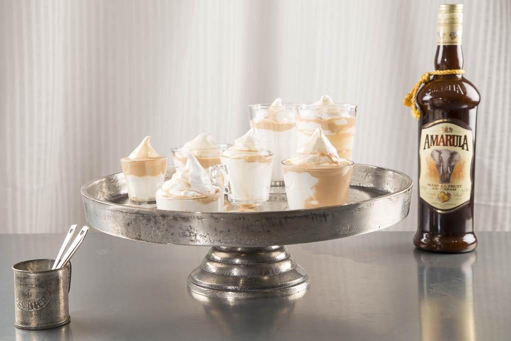 Amarula Cream sundae Foto: Michael Krantz Recept: Kristin Johansson