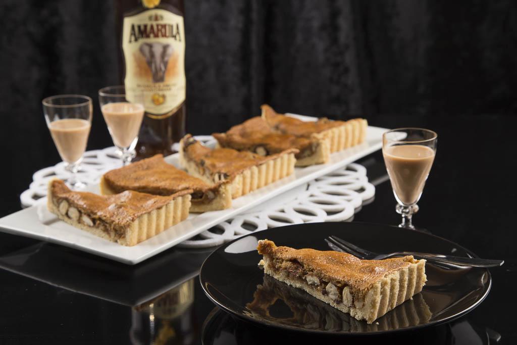 Nötkolapaj med Amarula cream Foto: Michael Krantz Recept: Kristin Johansson