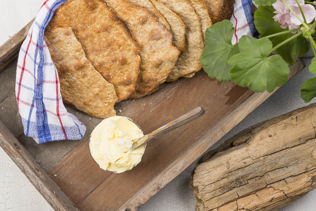 Honungsknäcke Recept: Kristin Johansson Foto: Michael Krantz
