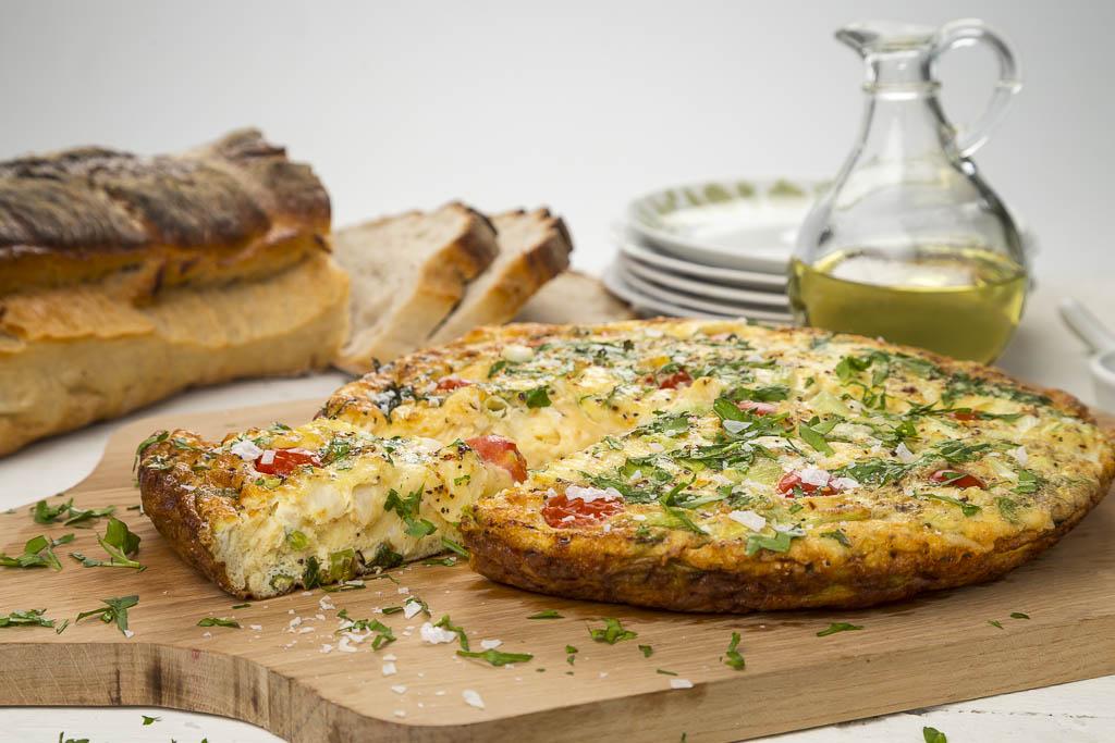 Omelett Foto: Michael Krantz Recept: Kristin Johansson