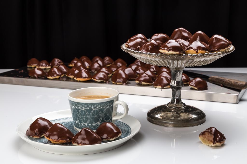 Chokladbiskvier Foto: Michael Krantz Recept: Kristin Johansson