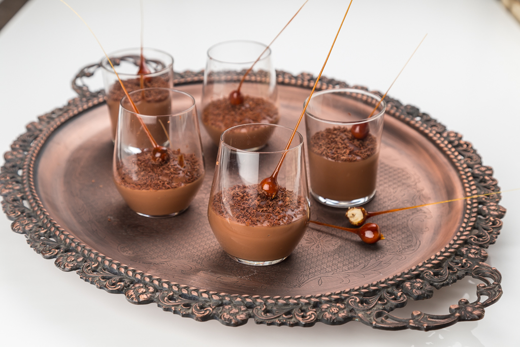 Chokladpudding Foto: Michael Krantz Recept: Kristin Johansson