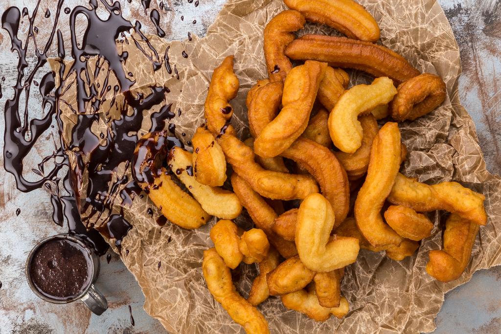 Chokladsås_churros Foto: Michael Krantz Recept: Kristin Johansson