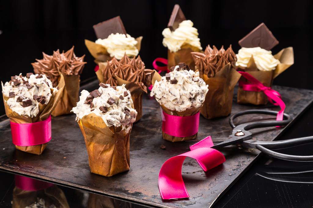 Cupcakes Foto: Michael Krantz Recept: Kristin Johansson