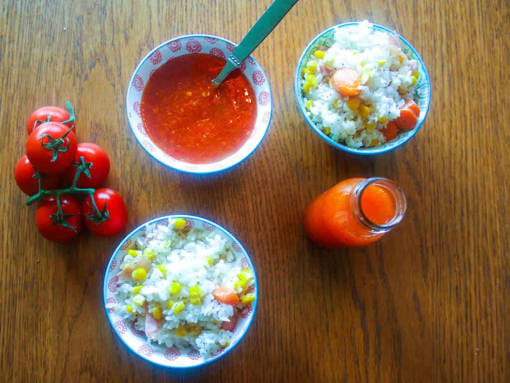 Sweet chili, Ketchup, Sötsur & Hältahälta