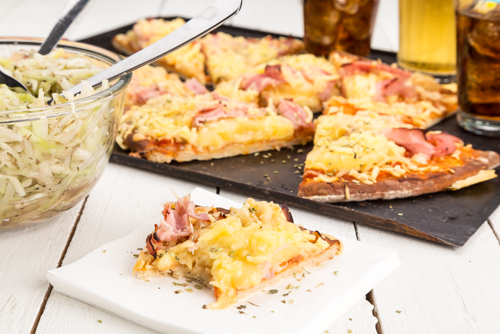Pan pizza Foto: Michael Krantz Recept: Kristin Johansson