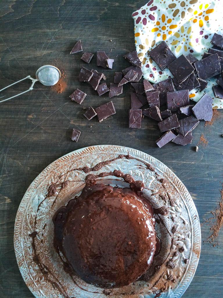 Kladdkaka med brynt smör. Recept & Foto Kristin Johansson