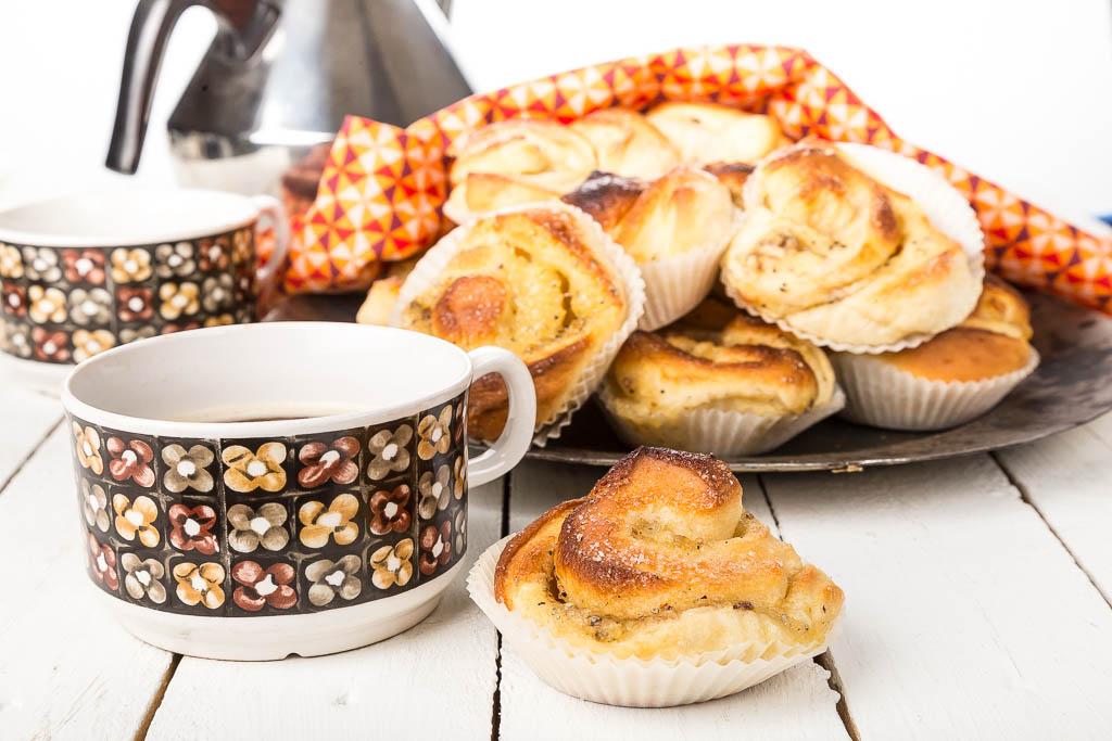 Äppelbullar Foto: Michael Krantz Recept: Kristin Johansson