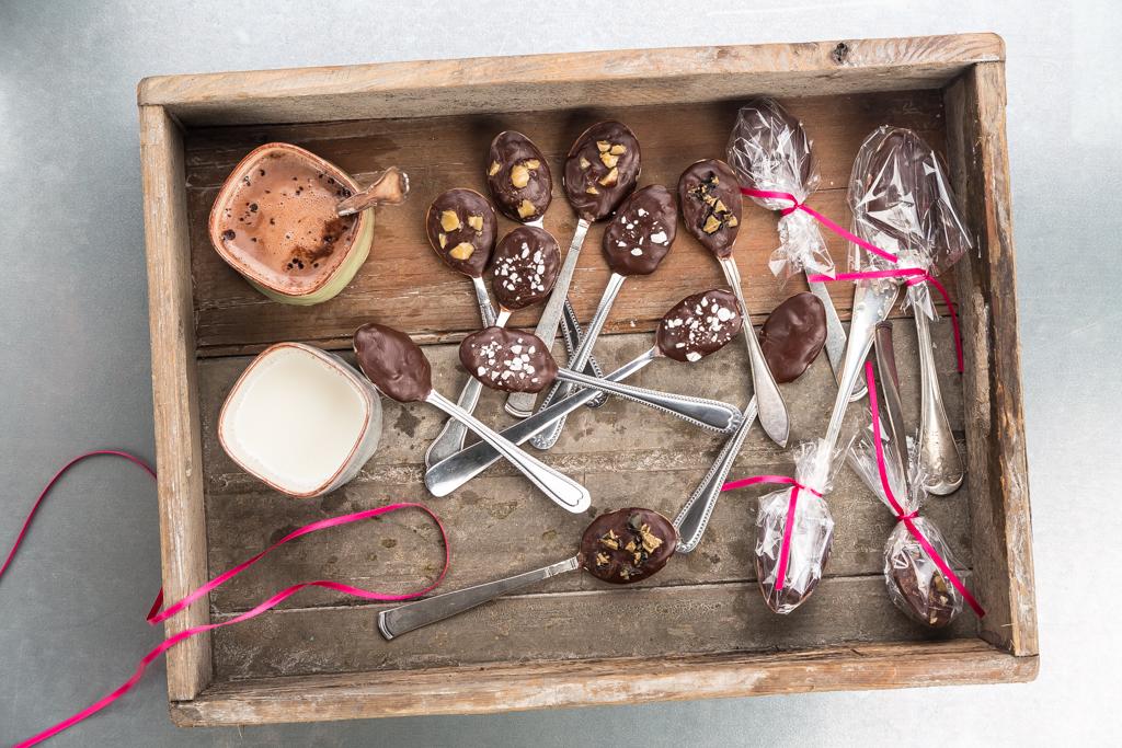Chokladskedar Foto: Michael Krantz Recept: Kristin Johansson