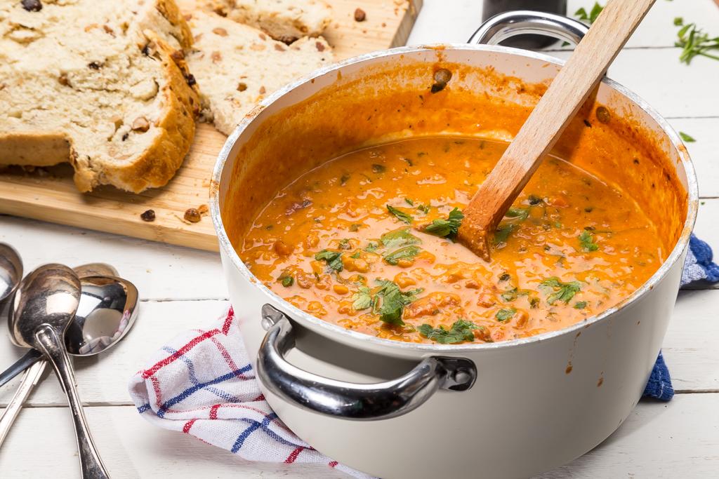 Vegetarisk chili Foto: Michael Krantz Recept: Kristin Johansson