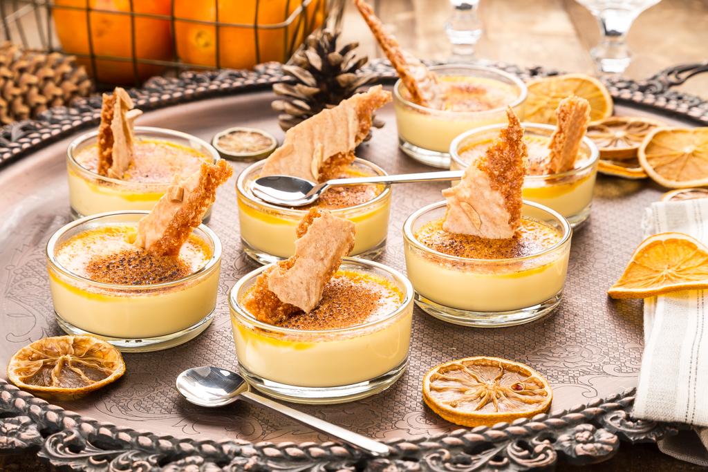 Crème brûlée med apelsin Foto: Michael Krantz Recept: Kristin Johansson