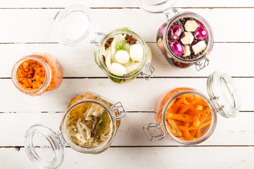 Inlagda grönsaker Foto: Michael Krantz Recept: Kristin Johansson