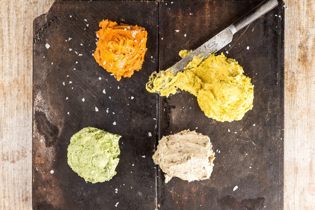 Smaksatt smör Foto: Michael Krantz Recept: Kristin Johansson