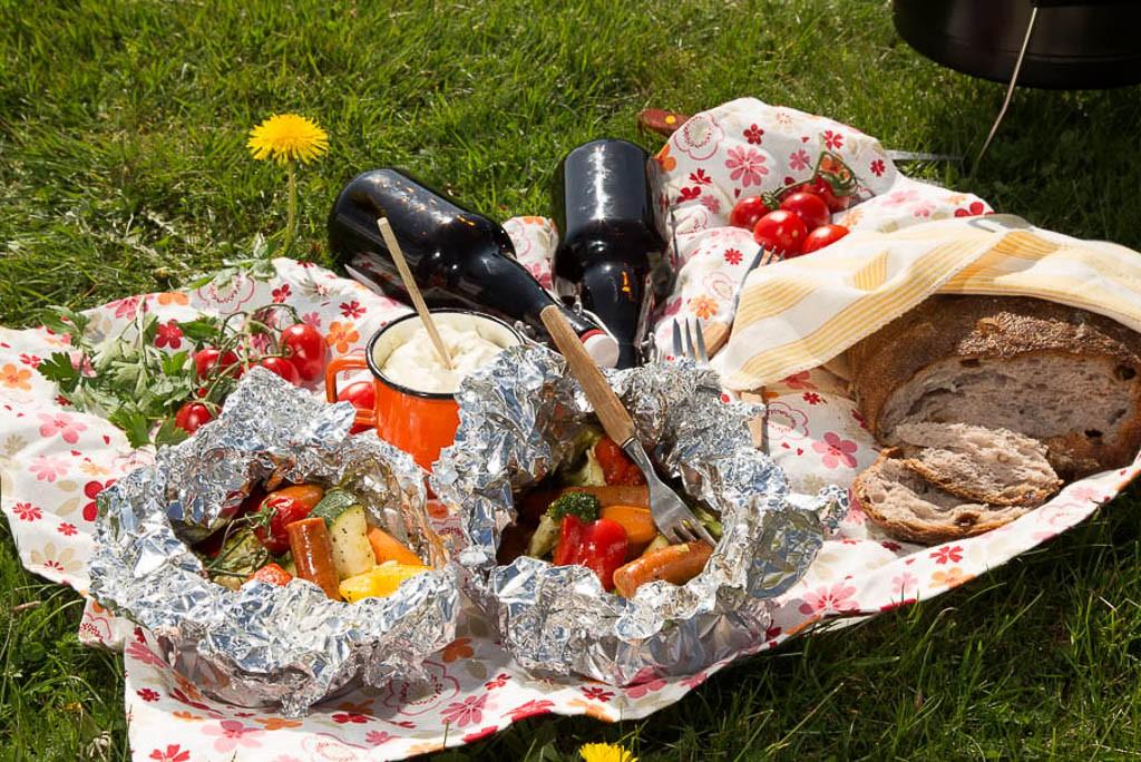 Grillpaket Foto: Michael Krantz Recept: Kristin Johansson