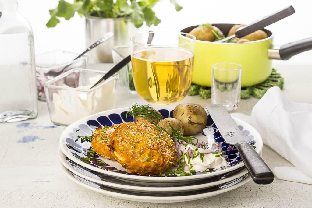 Vegetarisk midsommar Foto: Michel Krantz Recept: Kristin Johansson