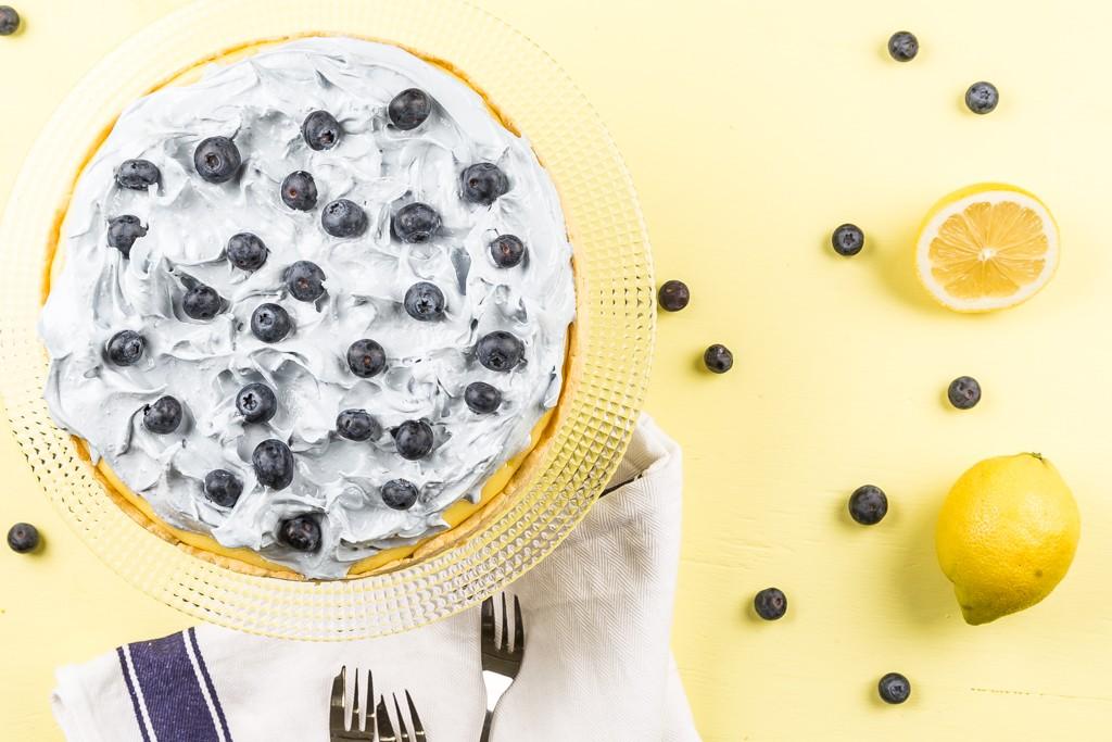 Blågul citronpaj Recept & foto Michael Krantz