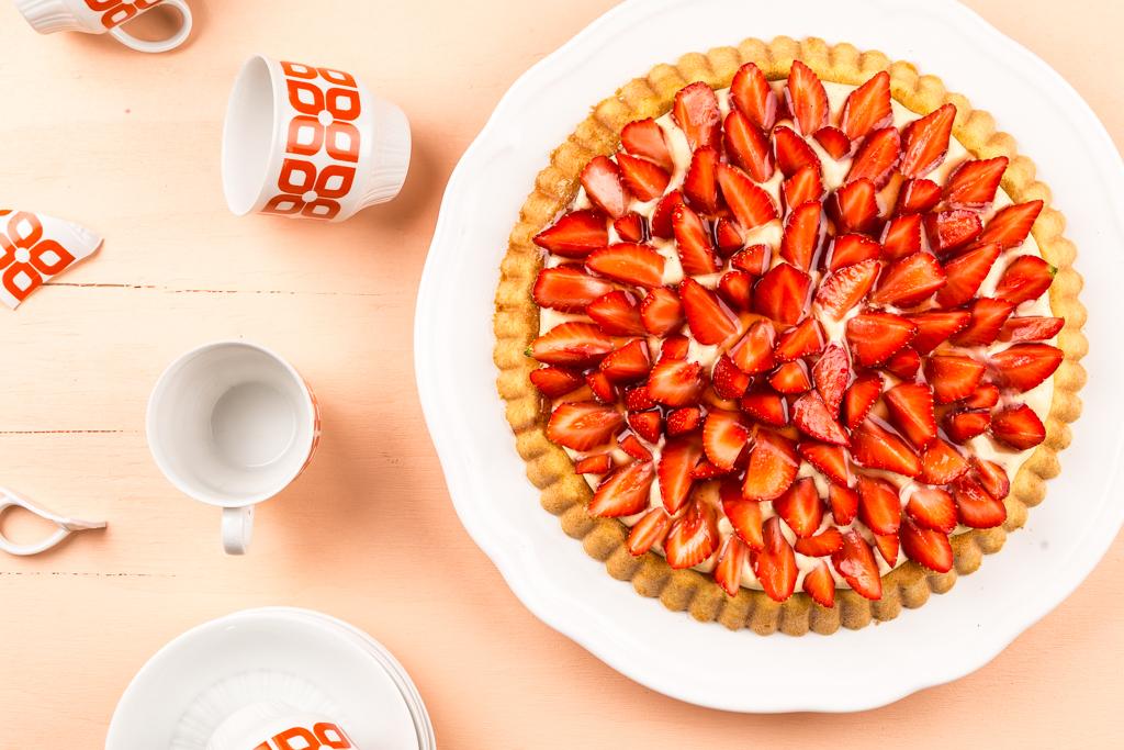 En bra glutenfri jordgubbskaka