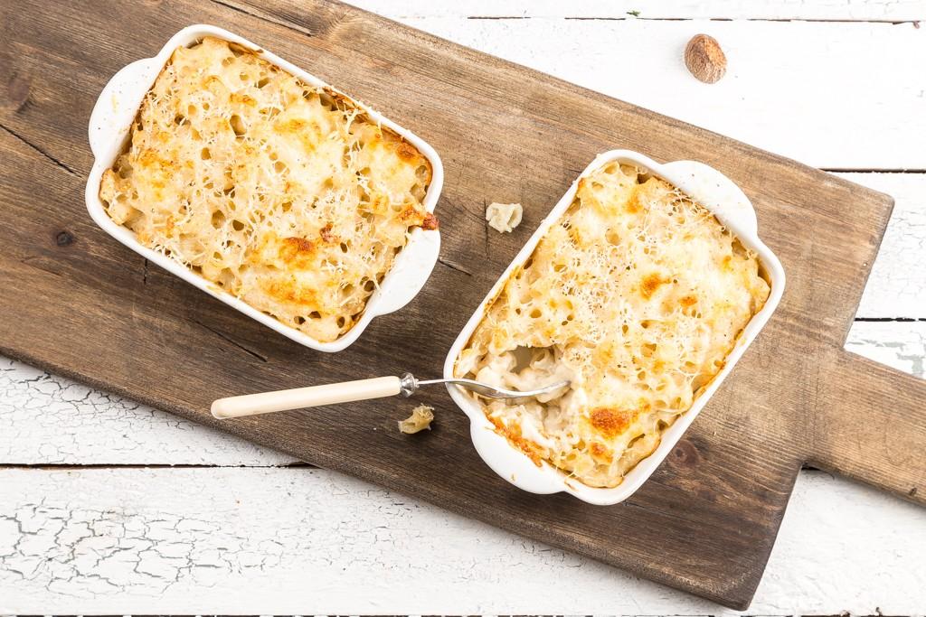 Mac´n cheese Foto: Michael Krantz Recept: Kristin Johansson