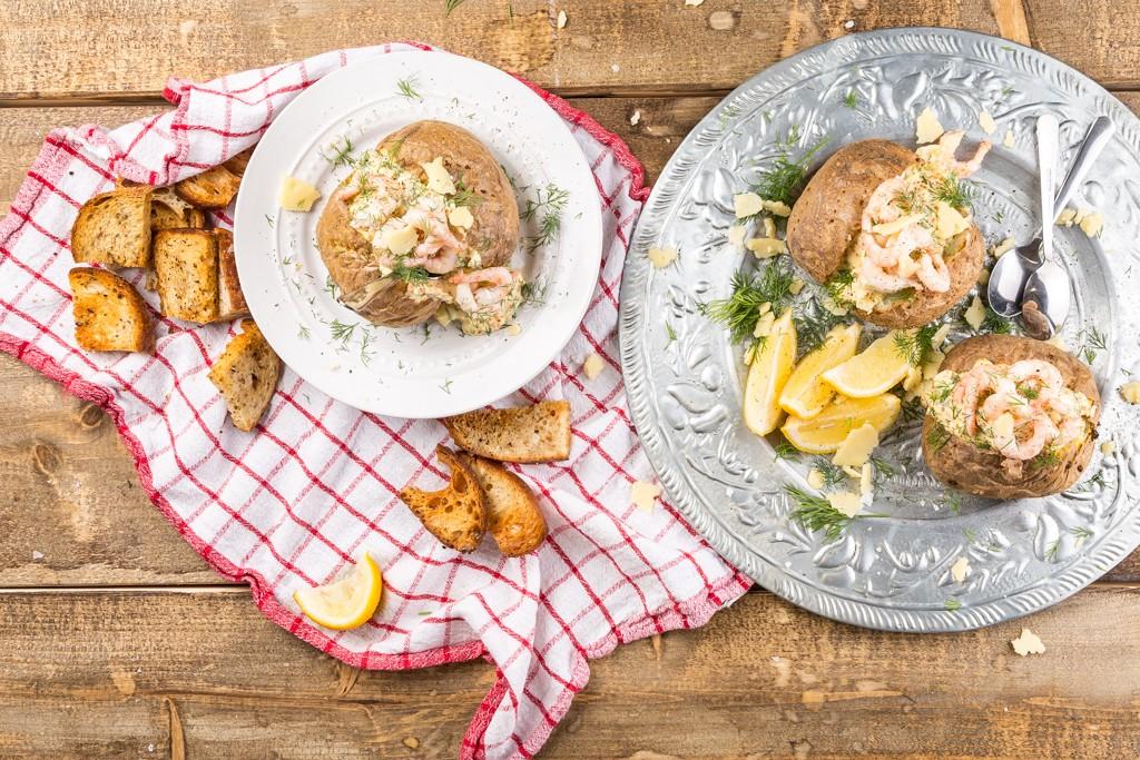 Bakad potatis Recept: Kristin Johansson Foto: Michael Krantz