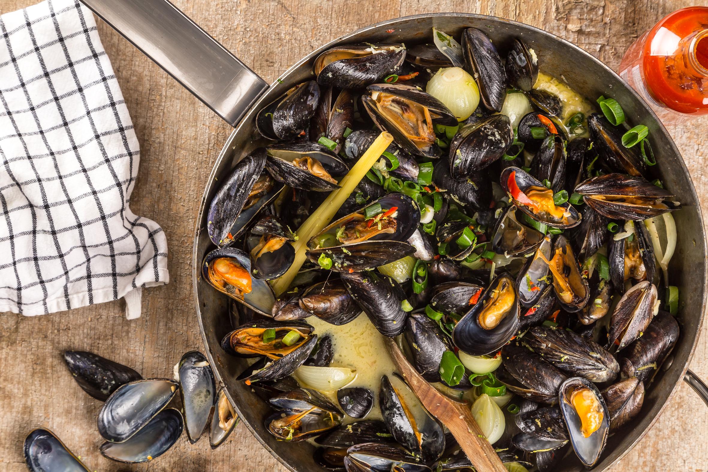 Asiatiska musslor