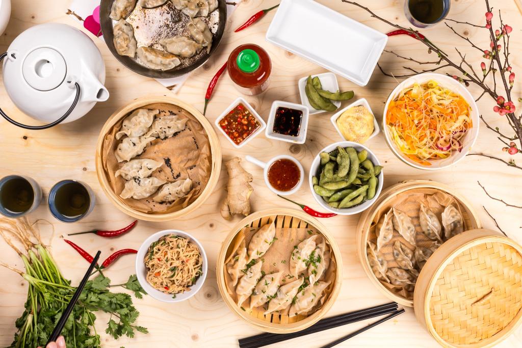 Dumplings Recept: Kristin Johansson Foto: Michael Krantz