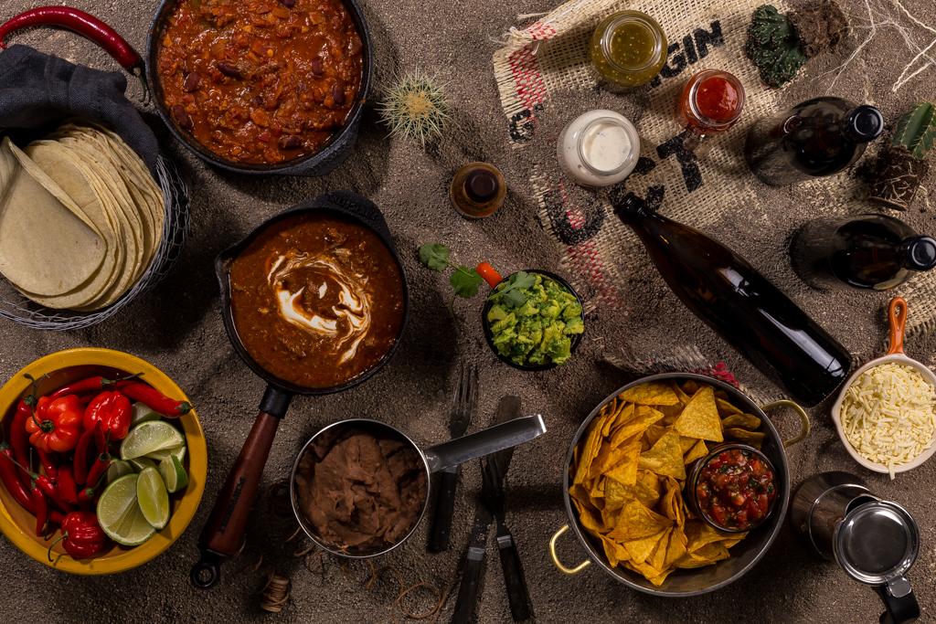 Taco, texmex & veggochili