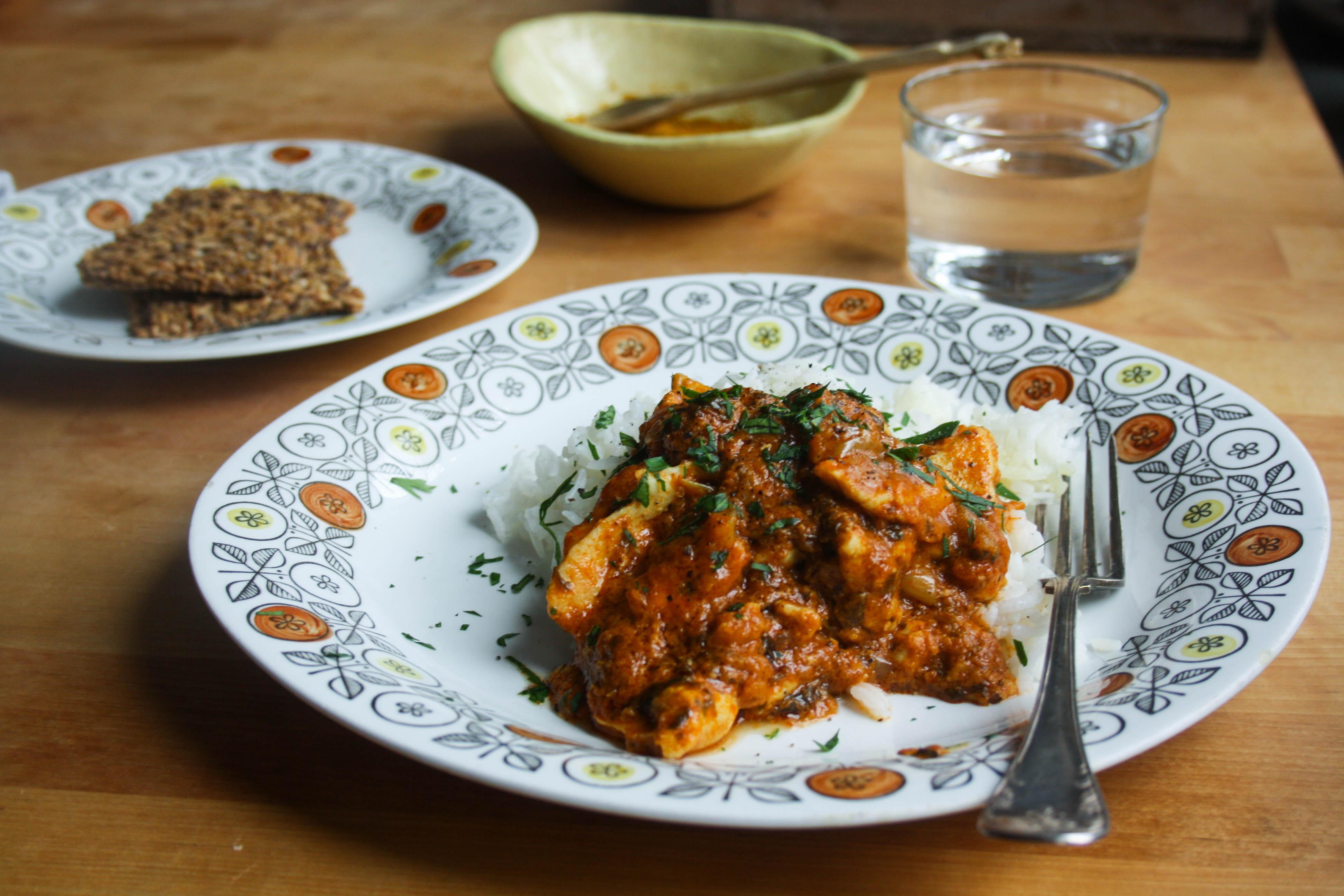 Halloumi & curry